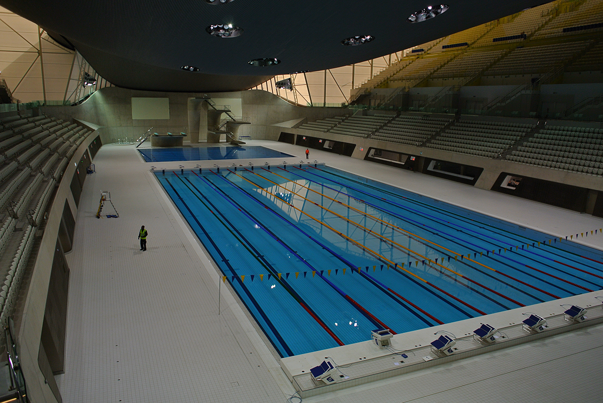 A traveler 39 s life london olympic pool for Olympic swimming pool pictures